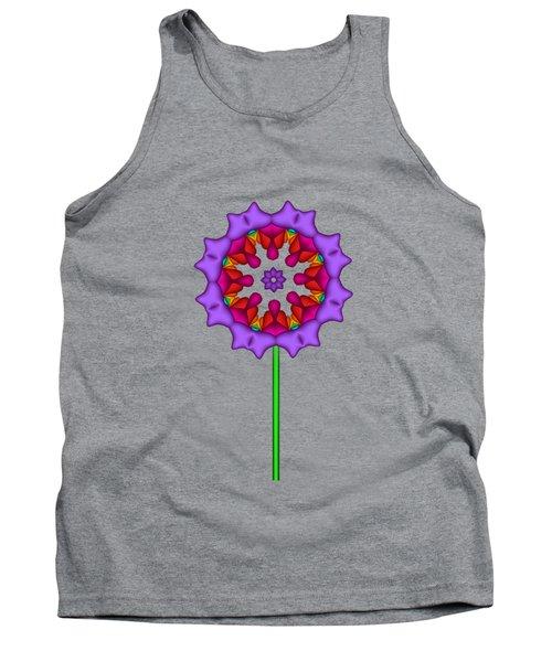 Fractal Flower Garden Flower 02 Tank Top