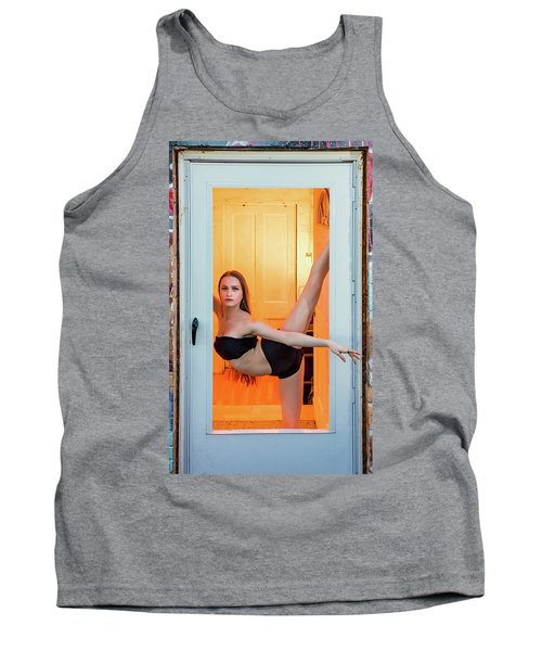 Framed- Stretch Tank Top