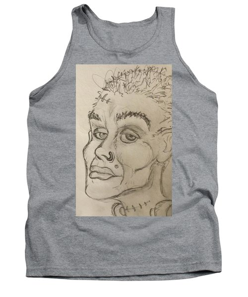 Frankenstein's Neighbor's Roommate's Girlfriend's Sister  Tank Top by Yshua The Painter