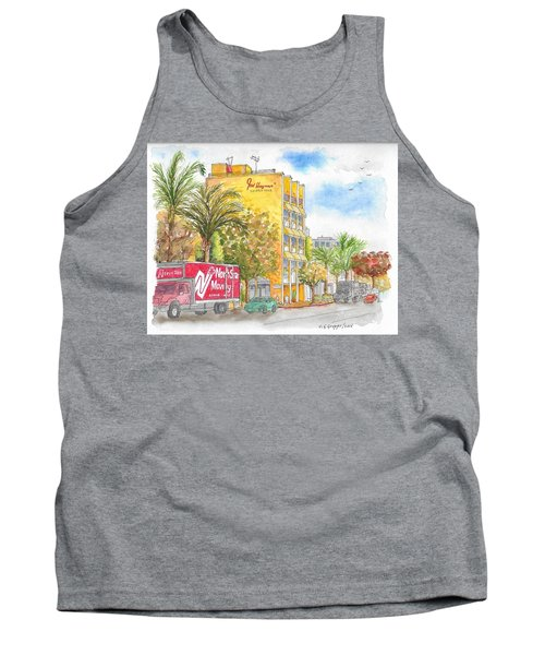 Fred Hayman Building, Cannon Dr And Clifton, Beverly Hills, Ca Tank Top