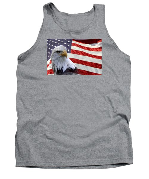 Tank Top featuring the photograph Freedom by Ann Bridges