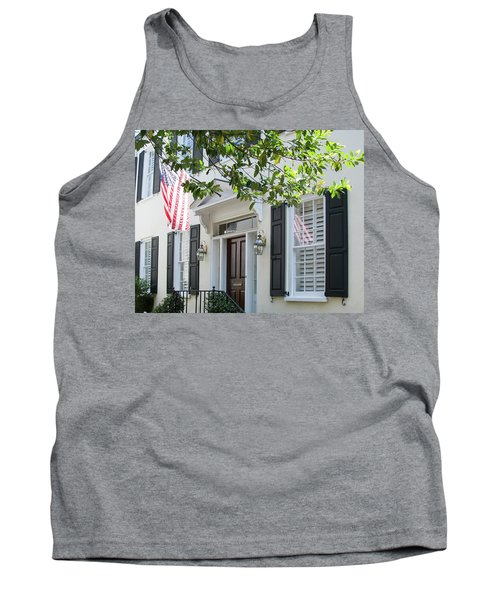 Freedom Reflected Tank Top by Ed Waldrop