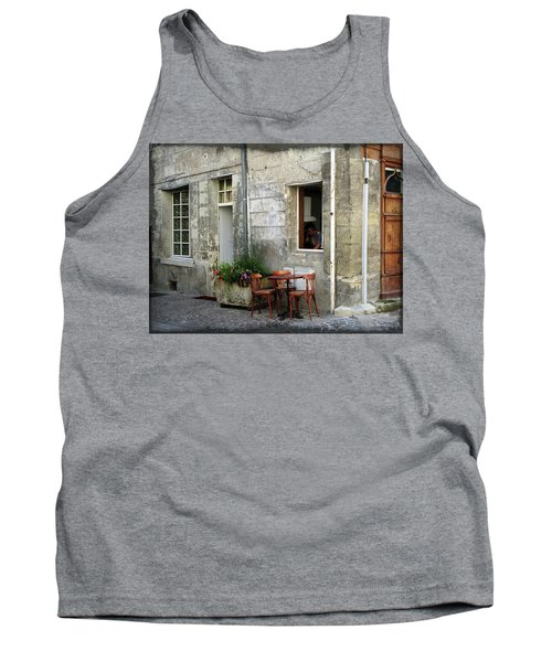 French Countryside Corner Tank Top