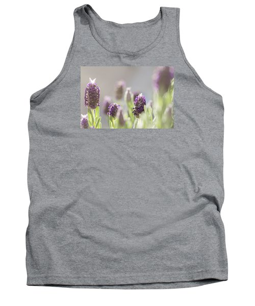 French Lavendar Buds Tank Top by Mary Angelini