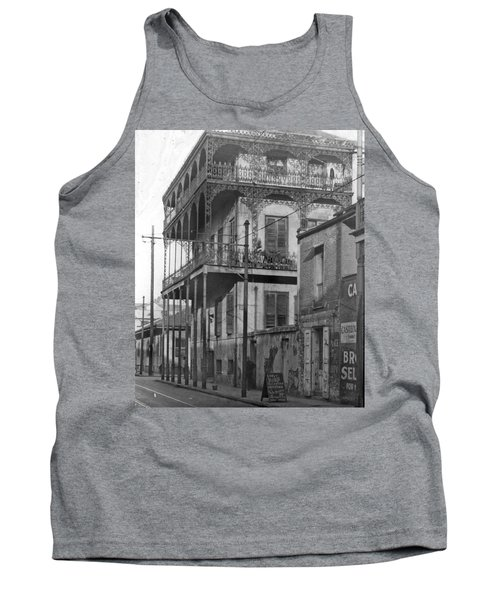 Dauphine St Residence Tank Top