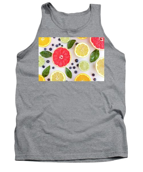 Fresh Citrus Fruits Tank Top
