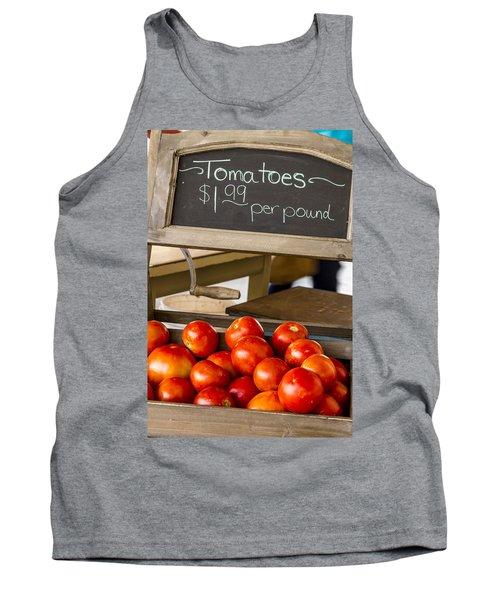 Fresh The Garden Tomatoes Tank Top