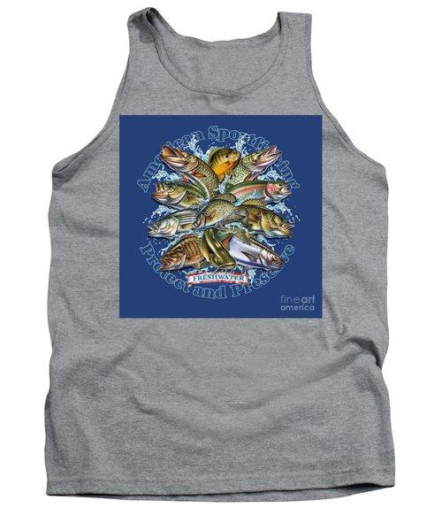 Freshwater Fish Preserve Tank Top