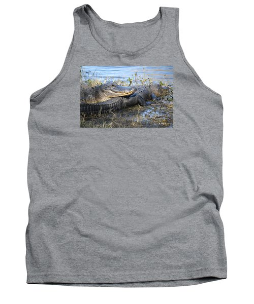 Tank Top featuring the painting Friend, I Got Your Back by Roena King