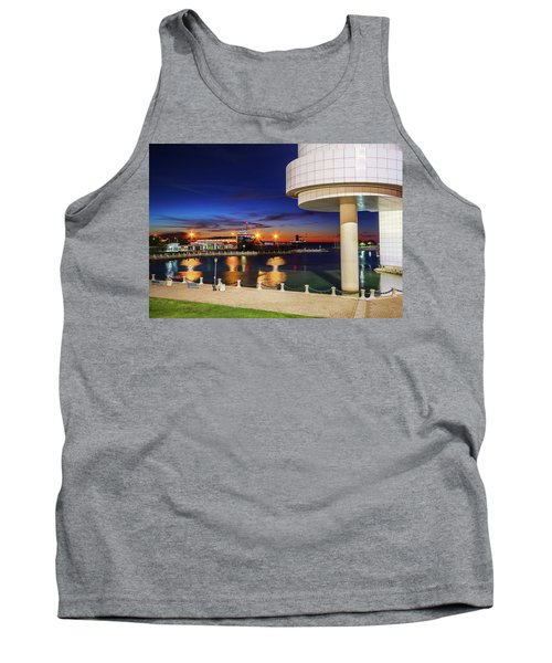 Tank Top featuring the photograph From The Rock Hall by Brent Durken
