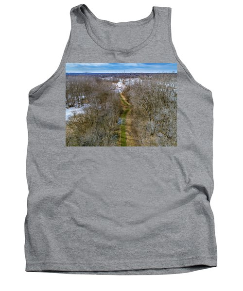From Woods To Snow Tank Top