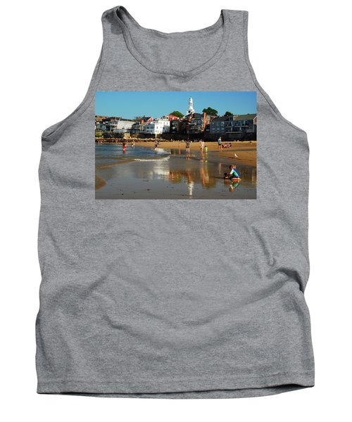 Front Beach Tank Top by James Kirkikis