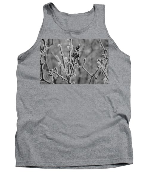 Tank Top featuring the photograph Frost 5 by Antonio Romero