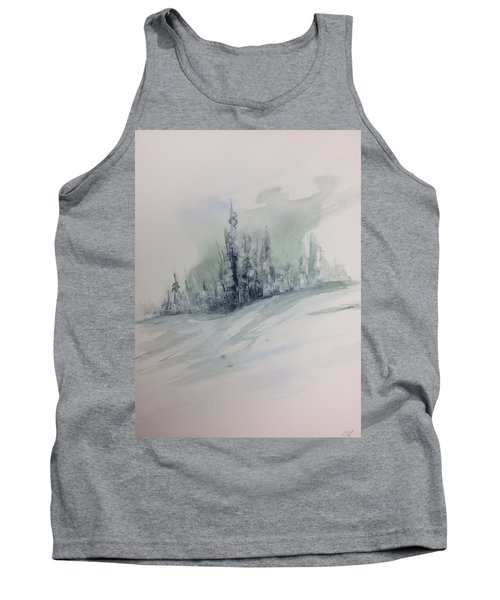 Frost On The Pines Tank Top
