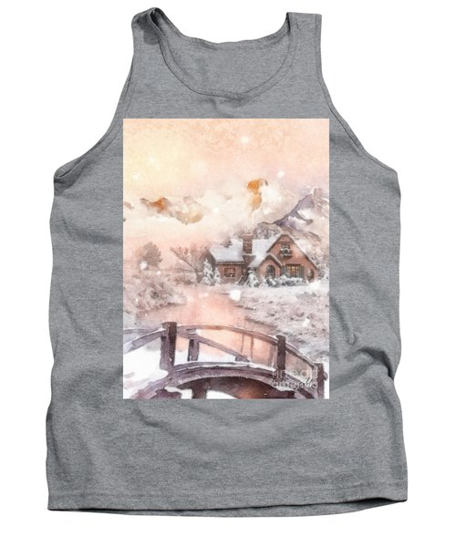 Frosty Creek Tank Top by Mo T
