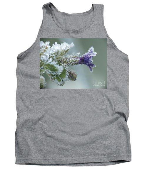 Frosty Flower Tank Top
