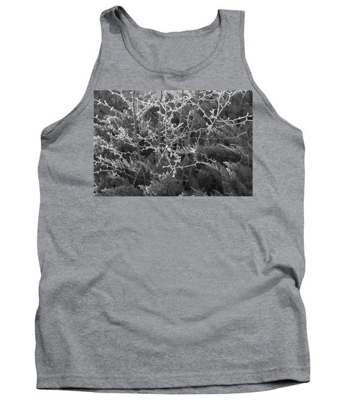 Tank Top featuring the photograph Frosty Morning # 3 by Antonio Romero