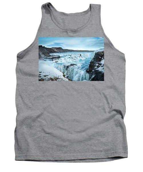 Frozen Gullfoss Tank Top