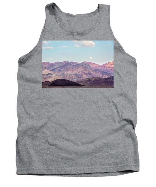 Full Moon Over Artists Palette Tank Top
