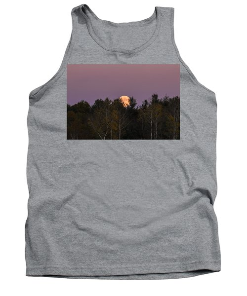Full Moon Over Orchard Tank Top