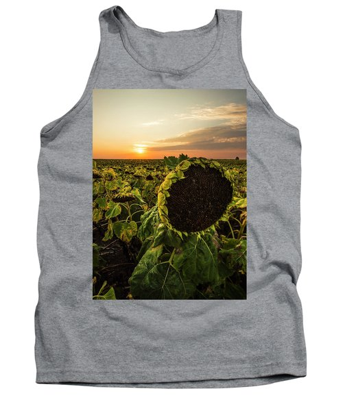 Tank Top featuring the photograph Full Of Seed  by Aaron J Groen