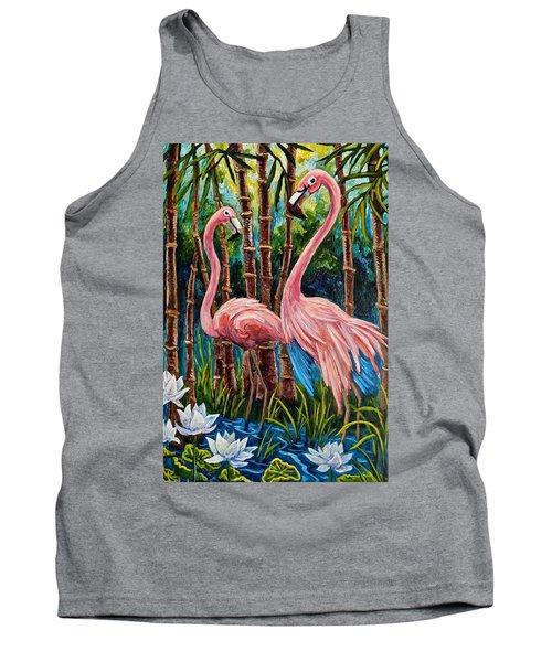 Fun Flamingos Tank Top