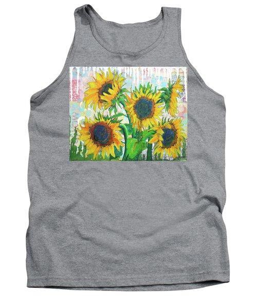 Funflowers Tank Top