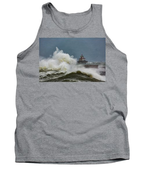 Tank Top featuring the photograph Fury On The Lake by Everet Regal
