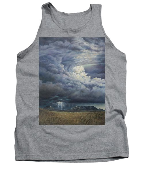 Fury Over Square Butte Tank Top by Kim Lockman