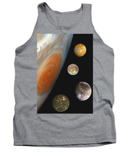 Galilean Moons Of Jupiter Tank Top