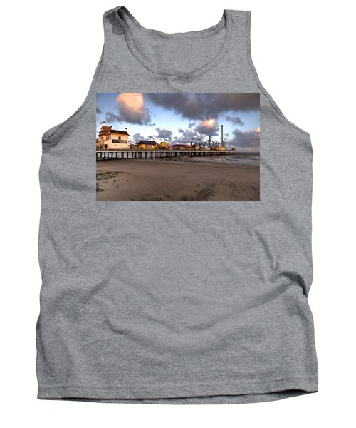 Galveston Island Historic Pleasure Pier Tank Top
