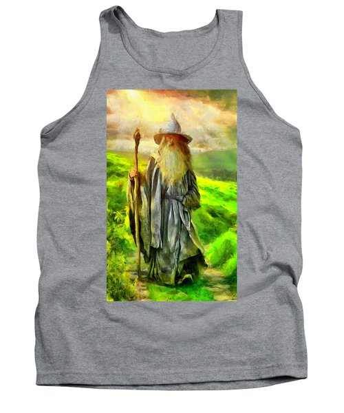 Gandalf, The  Grey Tank Top
