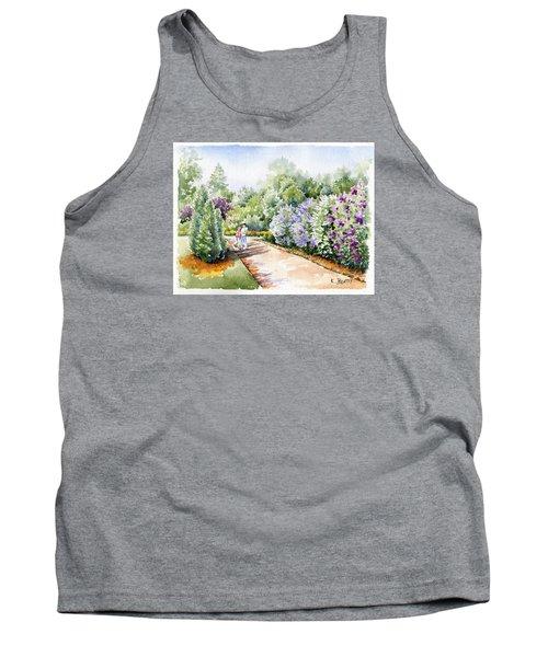 Garden Lilacs Tank Top