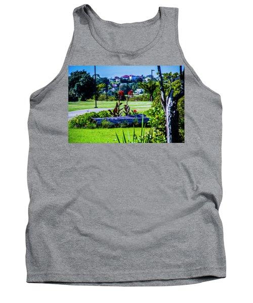Garden Log Tank Top