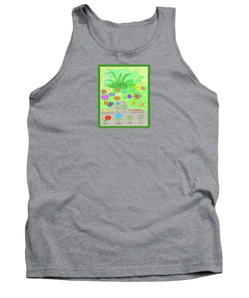 Garden Of Memories Tank Top by Fred Jinkins