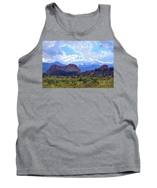 Garden Of The Gods Tank Top by Catherine Sherman