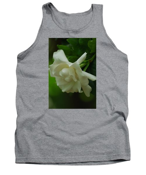Tank Top featuring the photograph Gardenia by Ramona Whiteaker
