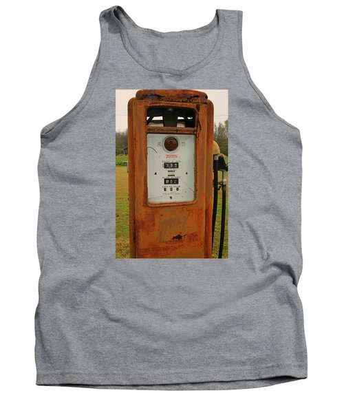 Gasoline Pump Tank Top by Ronald Olivier
