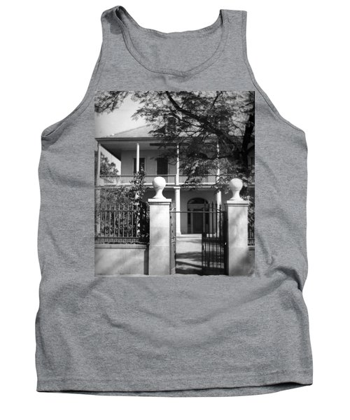 Gated Colonial Home Tank Top