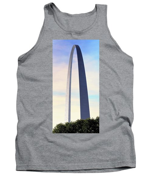 Gateway Arch - St Louis Tank Top by Rau Imaging