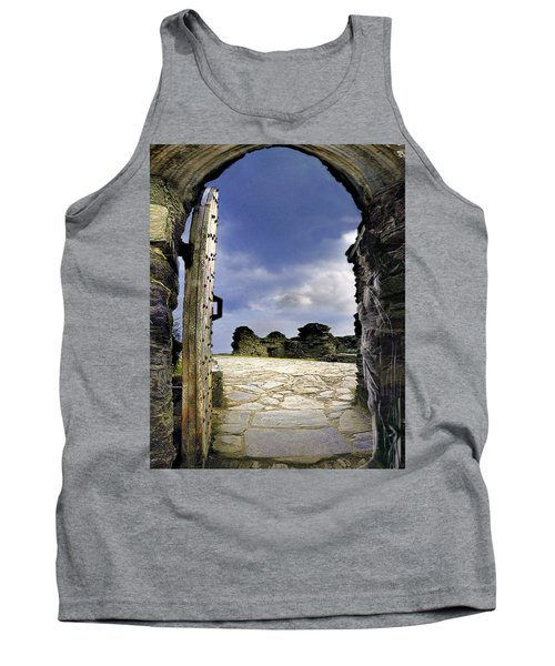 Gateway To The Castle  Tank Top