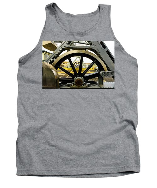 Gears Work Tank Top