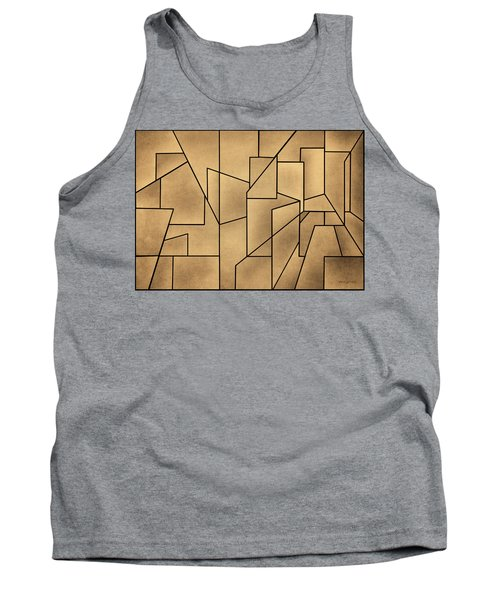 Geometric Abstraction IIi Toned Tank Top