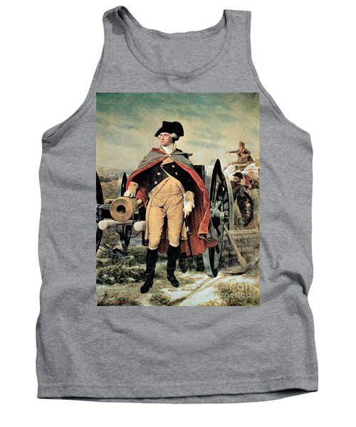 George Washington At Dorchester Heights Tank Top
