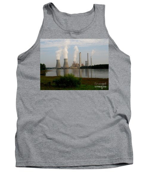 Georgia Power Plant Tank Top by Donna Brown