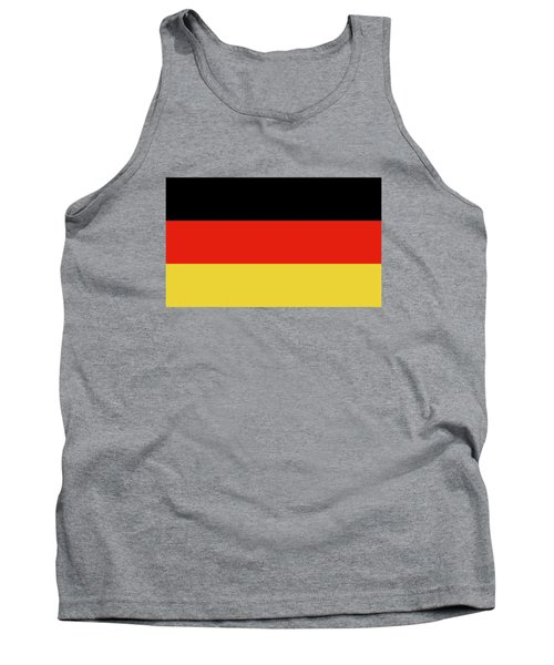 German Flag Tank Top by Bruce Stanfield