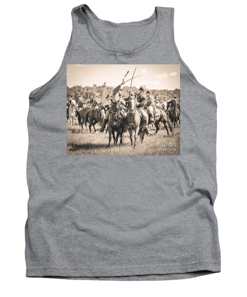 Gettysburg Cavalry Battle 7992s  Tank Top