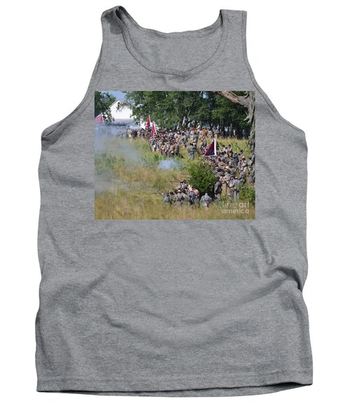 Gettysburg Confederate Infantry 8825c Tank Top