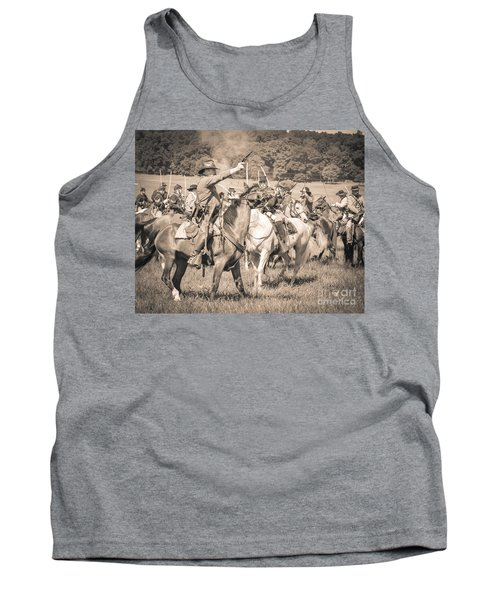 Gettysburg  Union Cavalry 7920s  Tank Top