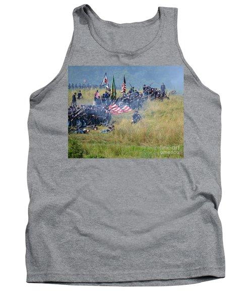 Gettysburg Union Infantry 8963c Tank Top